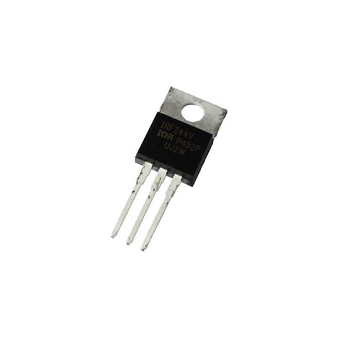 transistor mosfet de puissance irfz44v transistor de puissance mosfet to 220 komposantselectronik