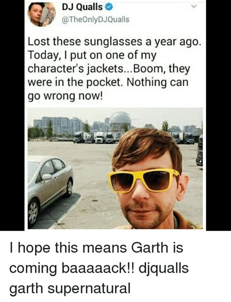 Put On Sunglasses Meme - dj qualls lost these sunglasses a year ago today i put on