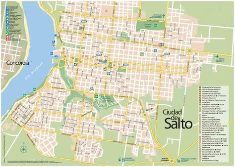 imagenes satelitales de salto uruguay mapa de salto plano de salto uruguay