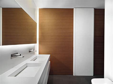 wood paneling decorating ideas bathroom modern wood great modern bathroom decors added floating double