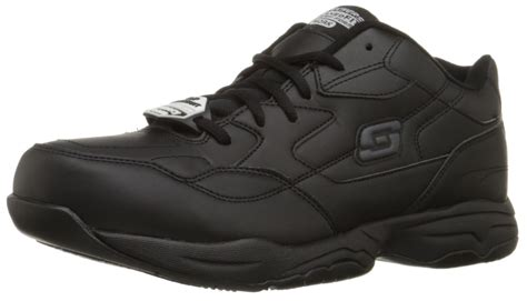 Sepatu Safety Skechers skechers for work s felton slip resistant relaxed fit work shoe black ebay