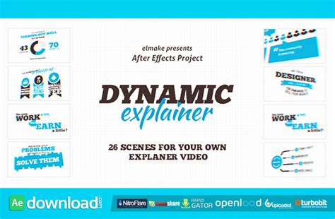 Dynamic Explainer Videohive Template Free Download Free After Effects Template Videohive Explainer Templates