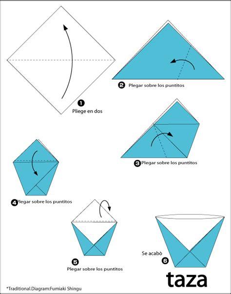 Easy Origamis - manualidades a mano vaso origami
