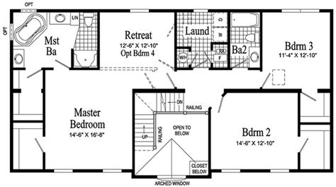 Second Story Floor Plans Hamilton Two Story Modular Home Pennwest Homes Model
