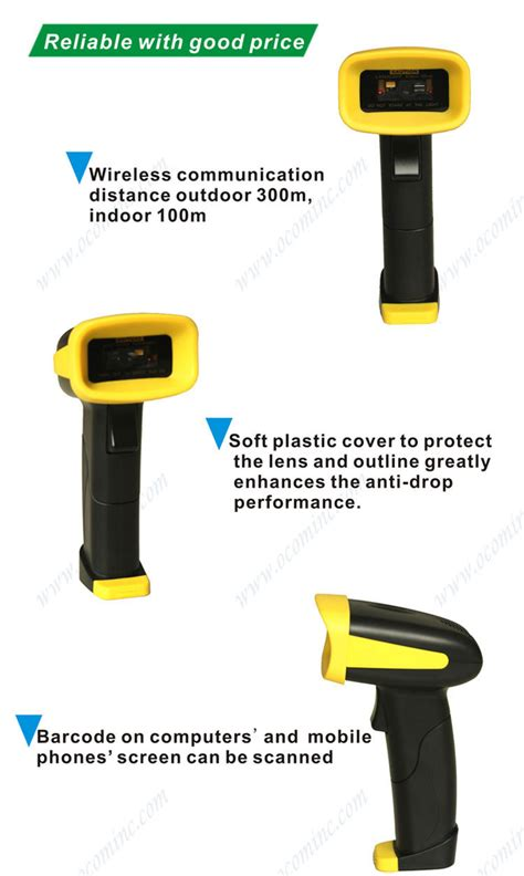 barcode scanner windows mobile 433mhz wireless fixed mount barcode scanner 2d tablet