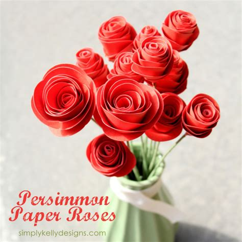 Roses With Paper - 51 diy paper flower tutorials how to make paper flowers