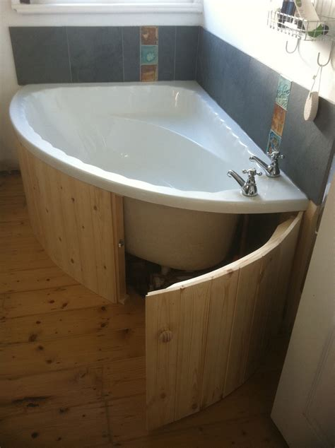 bathtub wood panel white bath panel with storage best house design how to