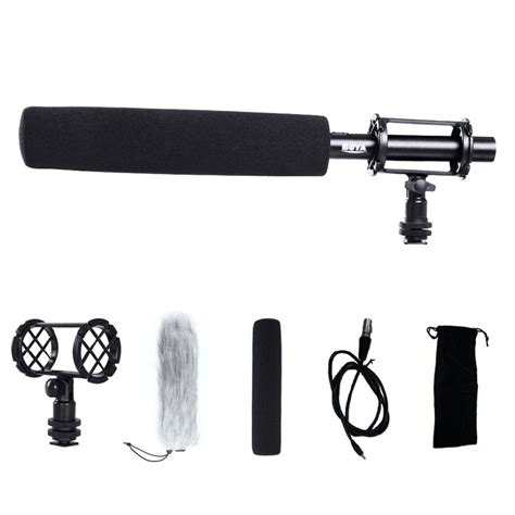 Pixel Mc 550 Voical Pro Microphone For Dslr Camcorder Promo promoci 243 n de sony dslr micr 243 fono compra sony dslr
