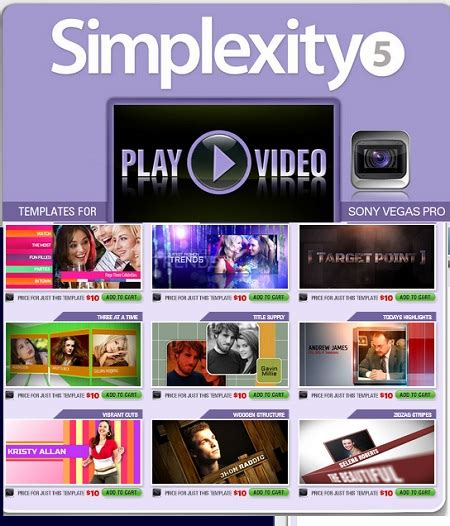 Digital Juice Simplexity Collection 5 For Sony Vegas All Design Template Photoshop Vector Digital Juice Templates