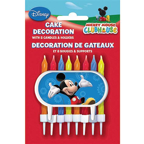 Cake Decorating Kits Walmart by Mickey Mouse Cake Decorating Kit 9 Set Walmart