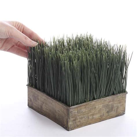 Wheat Grass Planters by Artificial Wheat Grass Planter Artificial Greenery