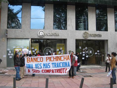 banco pichincha madrid banco pichincha dice que busca f 243 rmulas para ayudar a