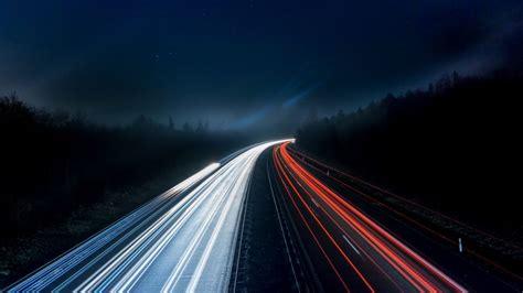 road backlight hd wallpaper wallpapersnet