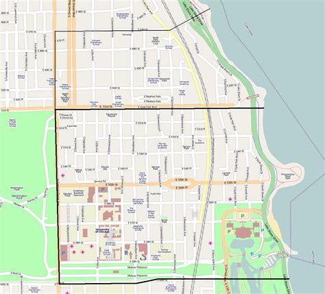 hyde park chicago map humboldt park chicago map