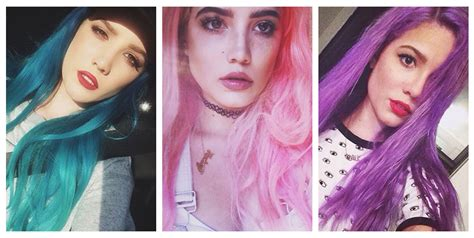 halsey hairstyles blue pink purple hair photos halsey hairstyles blue pink purple hair photos