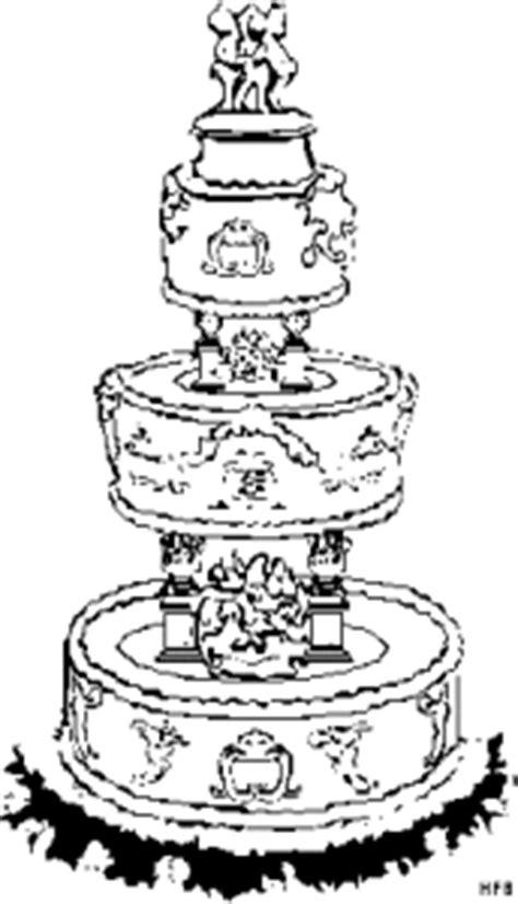 Hochzeitstorte Comic by Hochzeitstorte Ausmalbild Malvorlage Gemischt