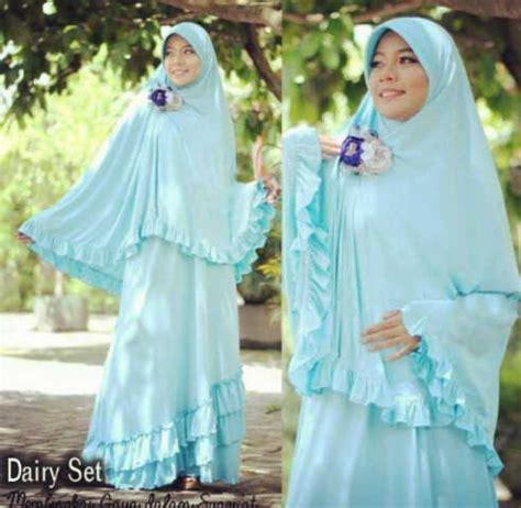 Promo Gamis Syar I Blue Maxmara baju gamis syar i dairy bergo y768 murah