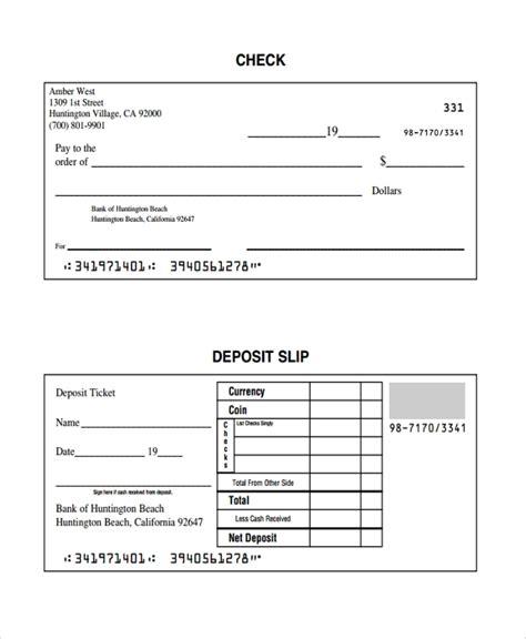 checking deposit slip template bank deposit slips template tolg jcmanagement co