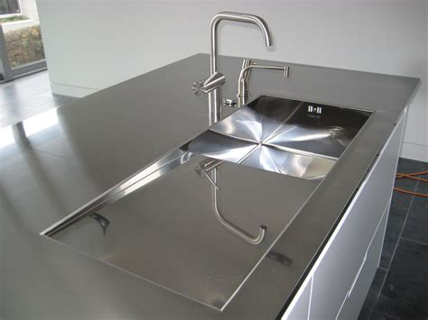 Worktop With Integrated Sink Lomi