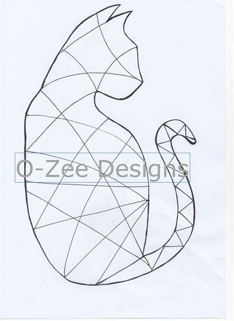 zentangle pattern templates cat zentangle template pdf a4 by ozeedesigns on etsy