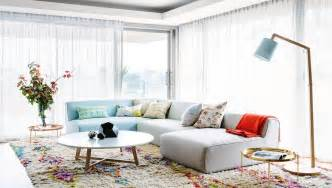 Shaggy Turquoise Rug Bright Modern Style In Perth This Peaceful Home