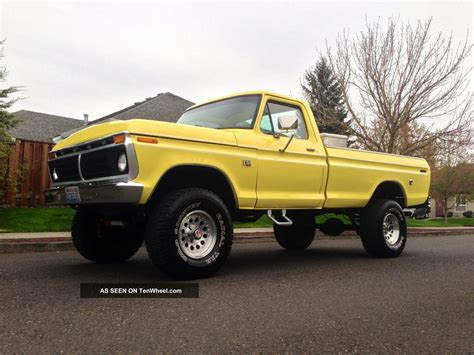 ford ranger 4x4 1976 ford f150 ranger 4x4 xlt longbed 1977 1975 1978 1974
