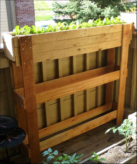 Pallet Planters by Patio Of Pots Pallet Planters A Reclaiming Project