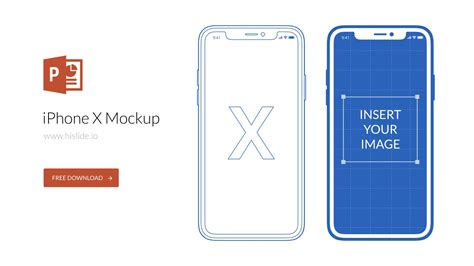 Iphone X Mockup For Powerpoint Powerpoint Elements For Presentation Pinterest Powerpoint Iphone Ppt Presentation