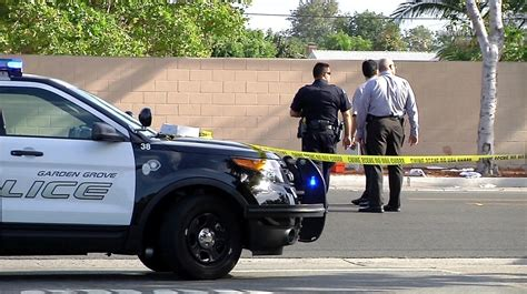 Garden Grove Pd by Shoot Wound Armed 18 Year In Garden Grove La