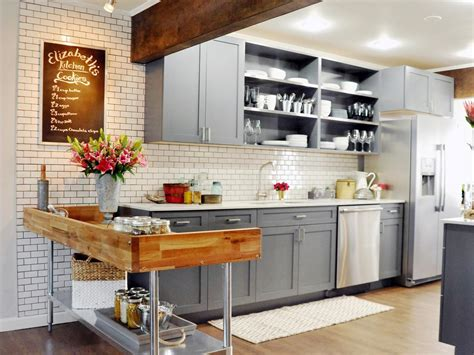 country gray kitchen cabinets photos hgtv