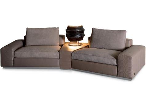 Miami Sectional Sofa Modular Sofa With Corner Table Miami Rugiano Luxury Furniture Mr