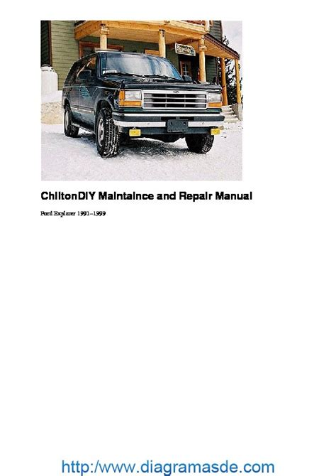 1991 1999 ford ranger explorer chilton manual northern auto parts ford 1999 explorer owners manual pdf download autos post