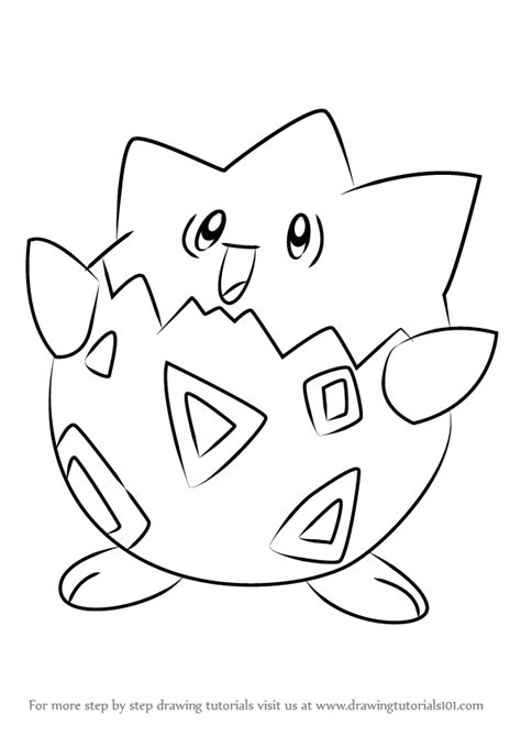 Togepi Pokemon Coloring Pages Images Pokemon Images Togepi Coloring Pages