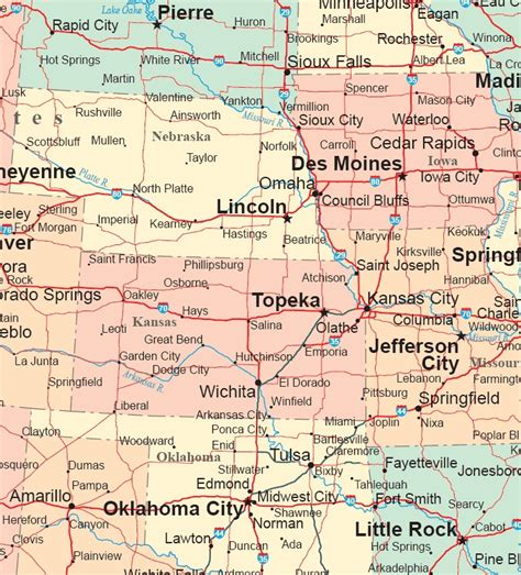 map us midwest map of the midwest the midwest