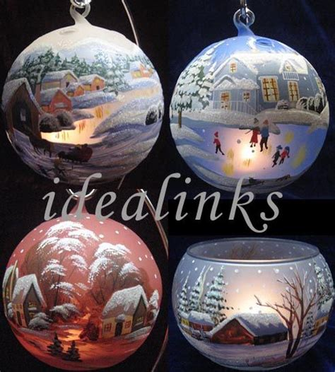 paint your own ornaments holiday pinterest