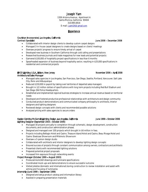 Government Contract Specialist Sle Resume by Government Contract Specialist Resume Resume Ideas