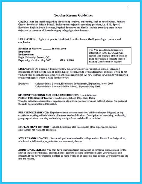 sample resume for teaching job best teacher resumes images on