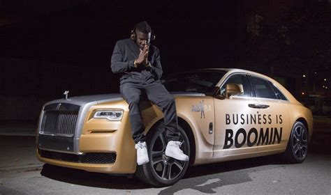 roll royce steelers antonio brown sports rolls royce ghost wrapped in gold