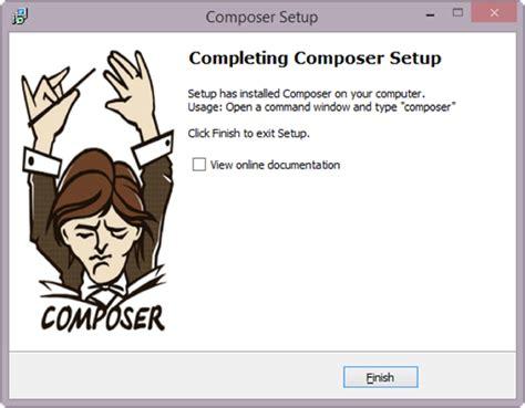 yii composer tutorial การเตร ยมเคร องม อก อนการต ดต ง yii framework 2 yii2