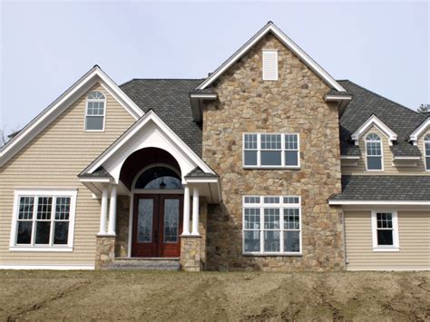 stone house siding exterior stone siding on pinterest stone siding wayne homes and st