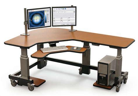 Hydraulic Standing Desk by Hydraulic Computer Desk Offex Mobile Hydraulic