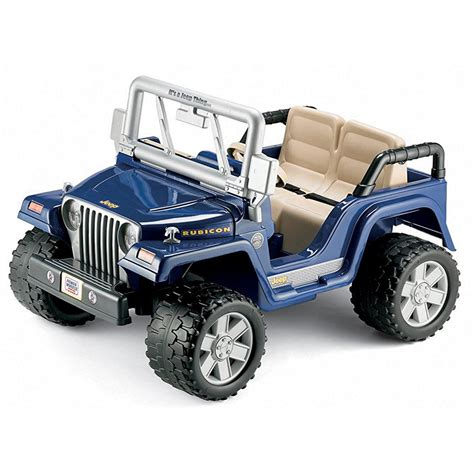 toy jeep for kids power wheels jeep rubicon motorized cars for kids autos