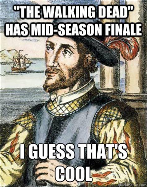 Walking Dead Finale Meme - quot the walking dead quot has mid season finale i guess that s