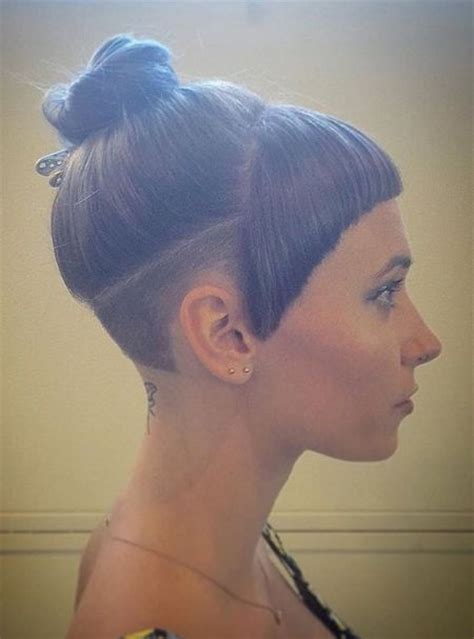 how to give yourself an undercut women 66 shaved hairstyles for women that turn heads everywhere