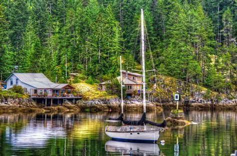 yacht the forest photo nature forests pier yacht rivers sailing houses