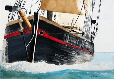 fishing boats for sale brixham brixham trawler boat watercolor painting