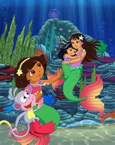 Dora s rescue in mermaid kingdom