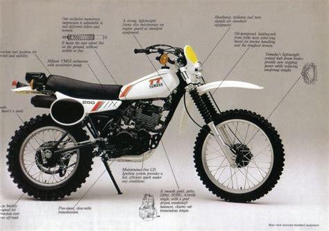 vintage yamaha motocross yamaha tt 250 1980 ad retro vintage classic moto