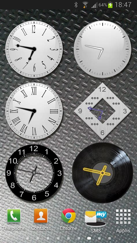 analog clock widgets for android analog clock widgets android apps on play