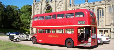 Image Gallery old london bus hire